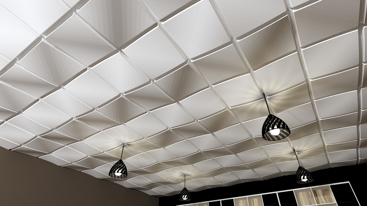 ceiling cloud artemide space